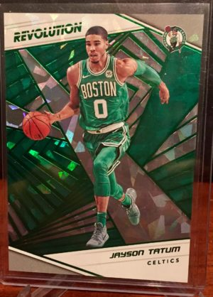 jayson tatum 2018-19 revolution chinese new year emerald parallel