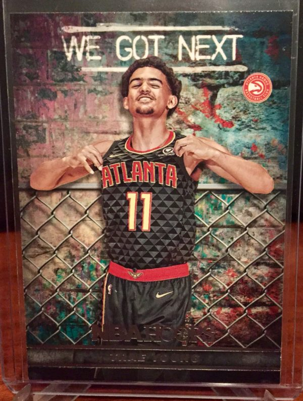 trae young we got next 2018-19 hoops rookie rc