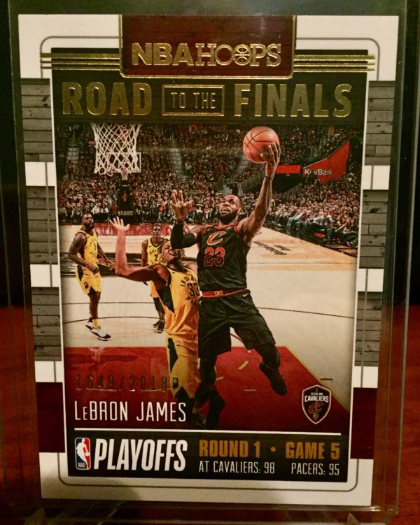 lebron james 2018-19 hoops road to the finals sp /2018