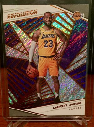 lebron james 2018-19 panini revolution